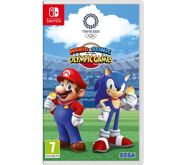 Mario & Sonic at the Olympic Games Tokyo 2020 offer at £36.99