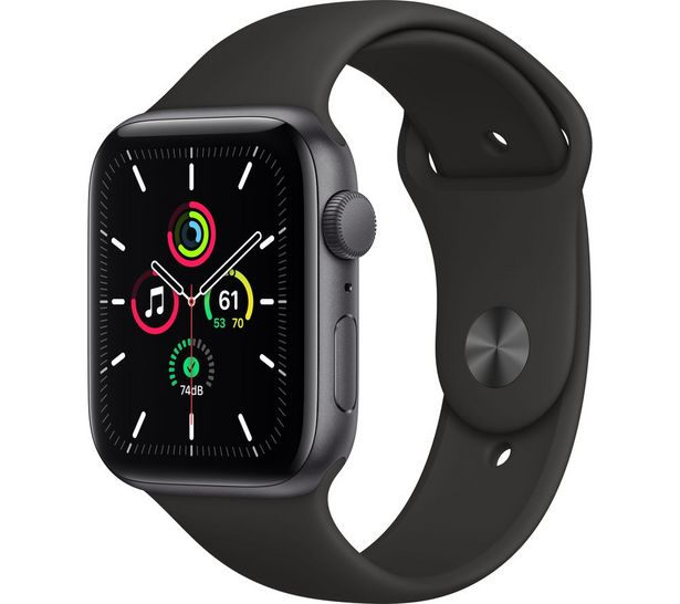 Watch SE - Space Grey Aluminium with Black Sports Band, 44 mm offer at £289
