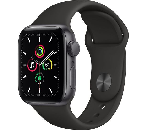 Watch SE - Space Grey Aluminium with Black Sports Band, 40 mm offer at £269