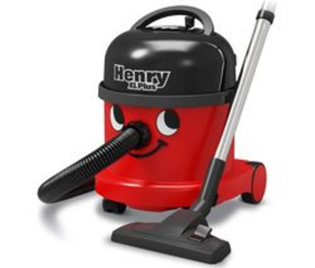 NUMATIC Henry XL Plus NRV370-11 Cylinder Vacuum Cleaner - Red offer at £129