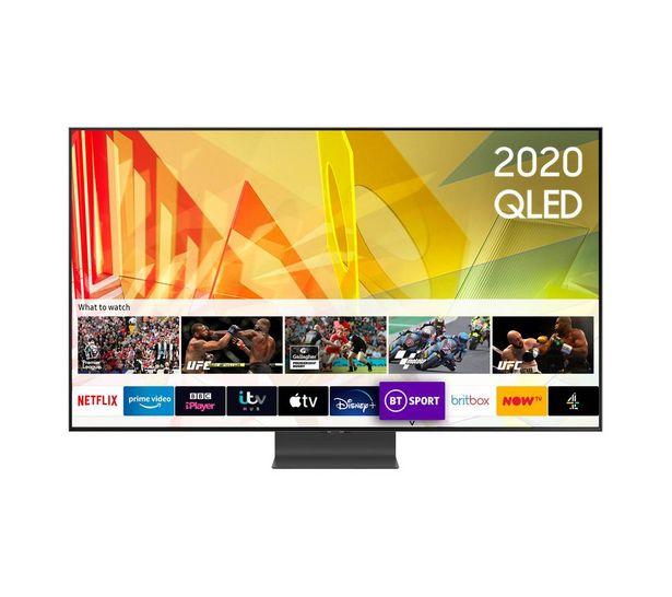 "QE65Q95TATXXU 65"" Smart 4K Ultra HD HDR QLED TV with Bixby, Alexa & Google Assistant offer at £1999"