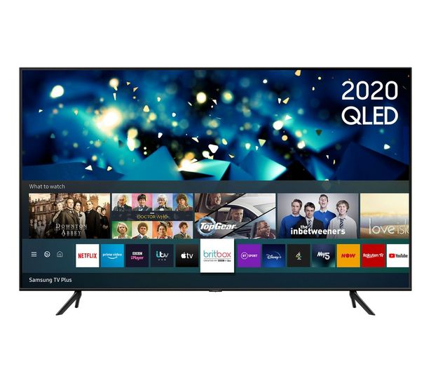 "QE50Q60TAUXXU 50"" Smart 4K Ultra HD HDR QLED TV with Bixby, Alexa & Google Assistant offer at £629"