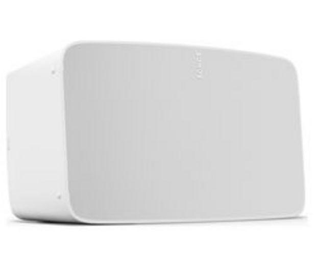SONOS Five Wireless Multi-room Speaker - White offer at £499