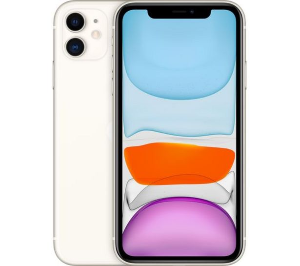 IPhone 11 - 128 GB, White offer at £649