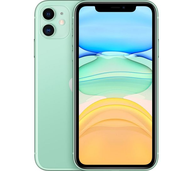 APPLE iPhone 11 - 64 GB, Green offer at £599
