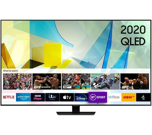 "QE49Q85TATXXU 49"" Smart 4K Ultra HD HDR QLED TV with Bixby, Alexa & Google Assistant offer at £1099"