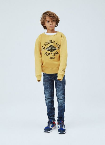ANTON VINTAGE INSPIRED SWEATSHIRT offer at £59