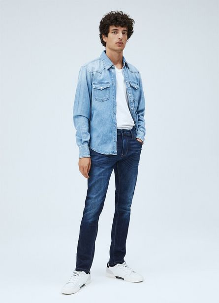 CARSON VINTAGE DENIM SHIRT offer at £52.5