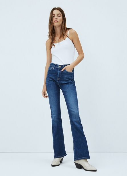 DION FLARE SLIM FIT HIGH WAIST JEANS offer at £90