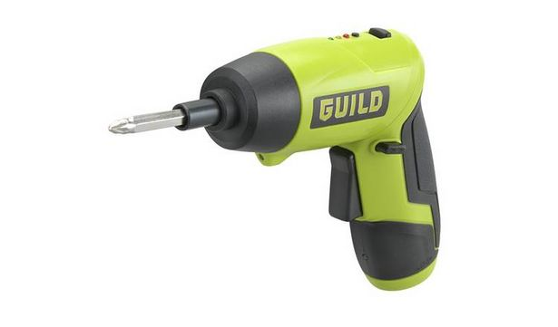 Guild Fastcharge Twist Li-ion Screwdriver – 3.6V  offer at £12.99