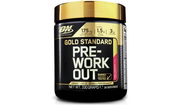 Optimum Nutrition Gold Standard Pre Workout Shake - Lemonade offer at £18.99