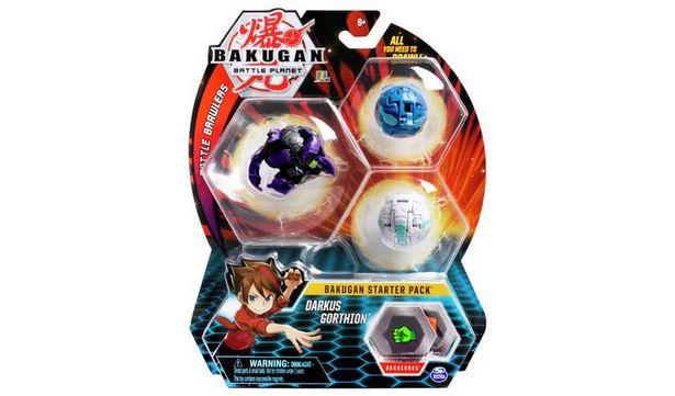 Bakugan Starter Pack - Dragonoid Black, Lion, T-Rex offer at £7