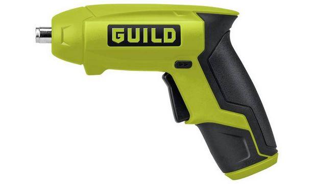 Guild Cordless Li-Ion Screwdriver - 3.6V offer at £9