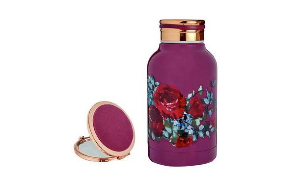 Tranquil Retreat Small Drinks Bottle & Compact Mirror offer at £5