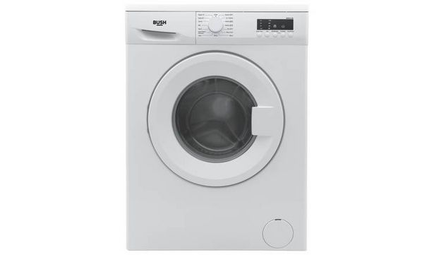 Bush WMDF612W 6KG 1200 Spin Washing Machine - White offer at £159.99
