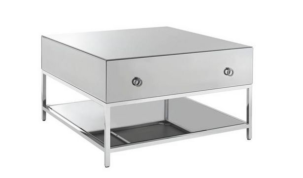 Argos Home Bianco Smoked Mirror Coffee Table offer at £198.99