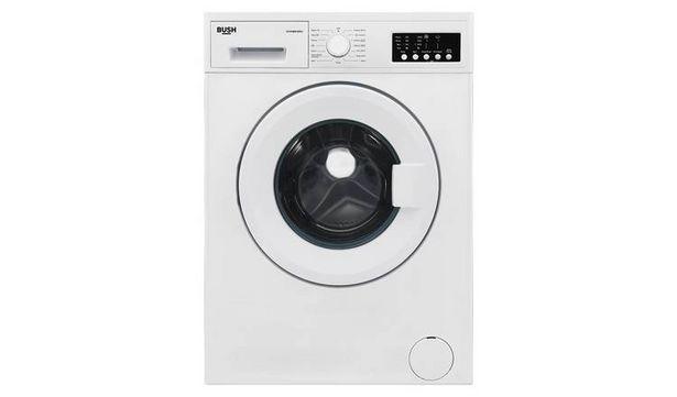 Bush WMNB812EW 8KG 1200 Spin Washing Machine - White offer at £179.99