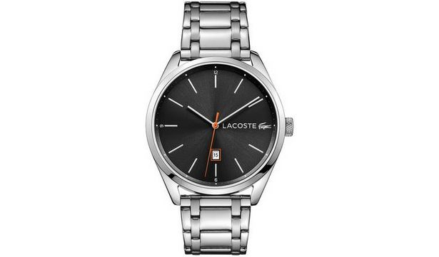 Lacoste Men's Silver Stainless Steel Bracelet Watch offer at £52.99