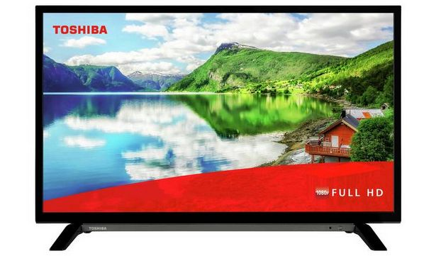 Toshiba 32 Inch Smart Full HD LED TV offer at £204