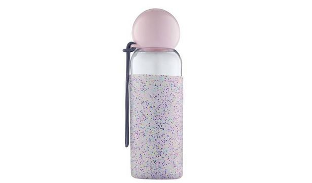 Doin it for the Gram Drink Bottle with Glitter Silicone Wrap offer at £2