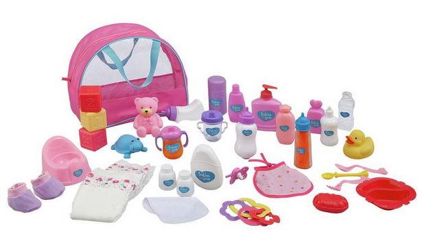Chad Valley Babies to Love Deluxe Changing Bag Set offer at £7.99
