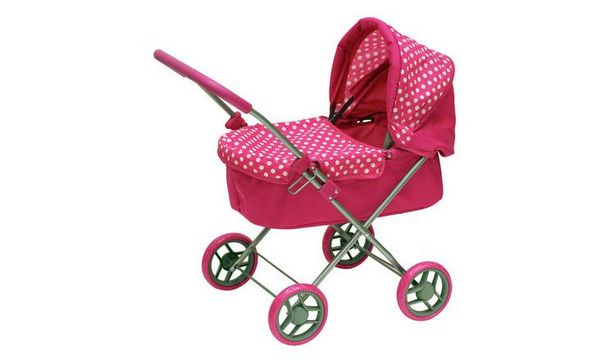 Chad Valley Babies to Love My First Doll's Pram offer at £11.38