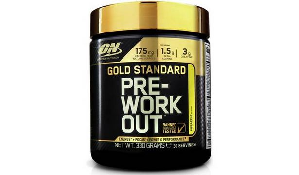 Optimum Nutrition Gold Standard Pre Workout Shake -Pineapple offer at £18.99
