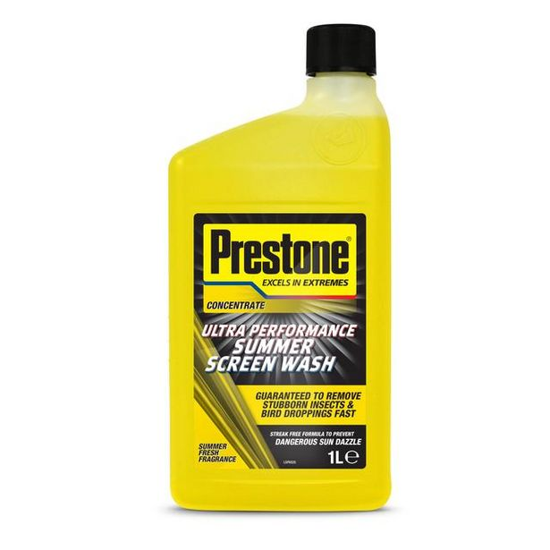 Prestone Ultra Performance Summer Screen Wash offer at £0.75