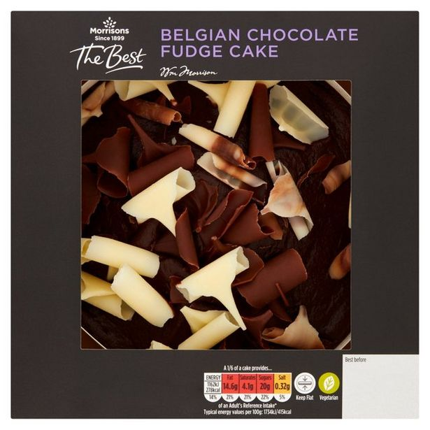 Morrisons The Best Chocolate Cake offer at £2
