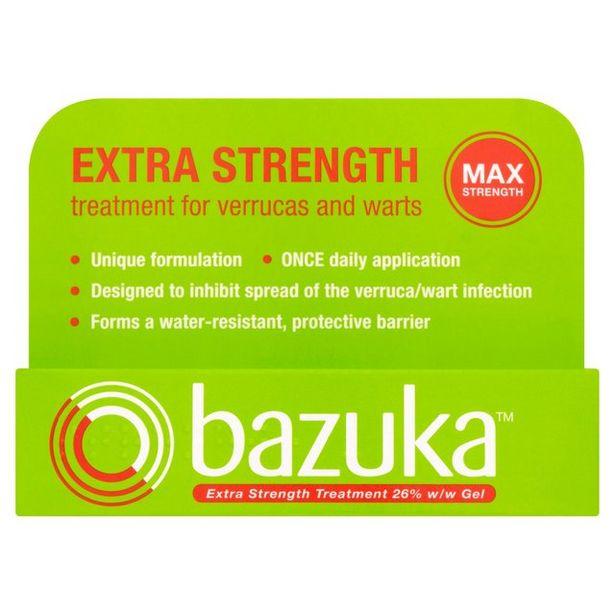 Bazuka Extra Strength Gel offer at £5.75