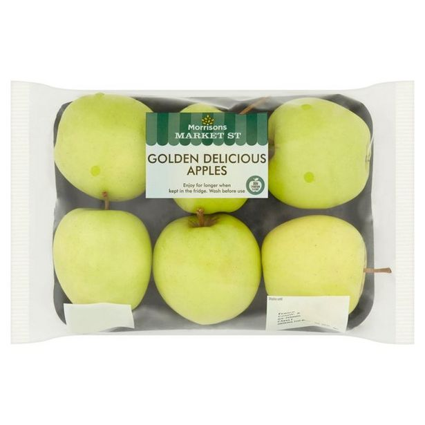 Morrisons Golden Delicious Apples  offer at £1.19