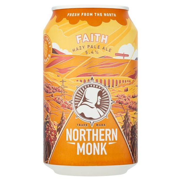 Northern Monk Faith Modern Pale Ale  offer at £1.95