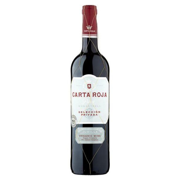 Carta Roja Pura Jumilla Organic Wine offer at £6