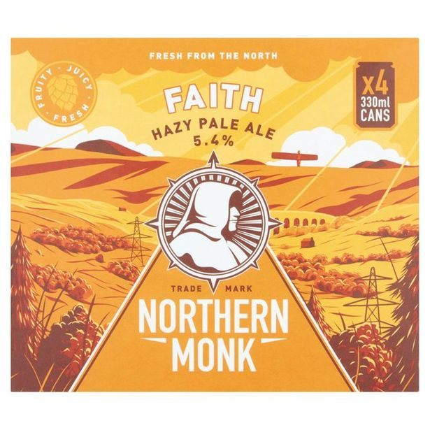 Northern Monk Faith Modern Pale Ale  offer at £6.5