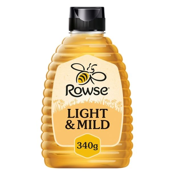 Rowse Light & Mild Squeezy Honey offer at £2