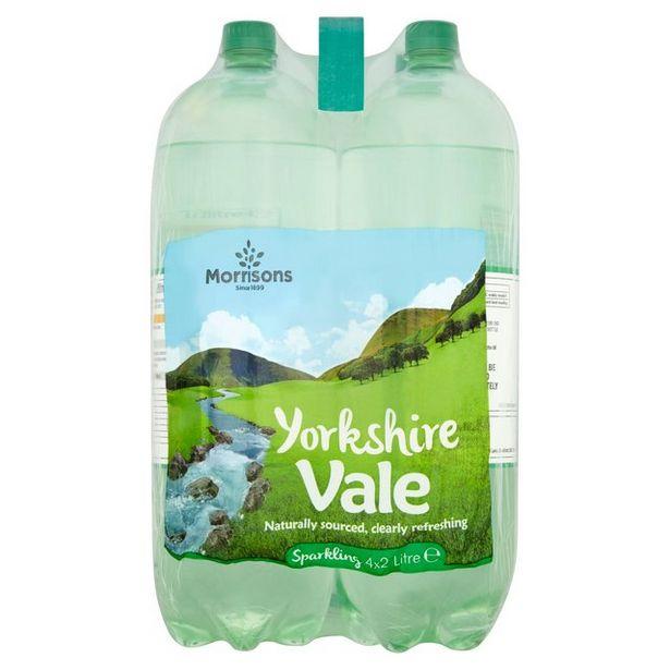 Morrisons Sparkling Spring Water offer at £1.25