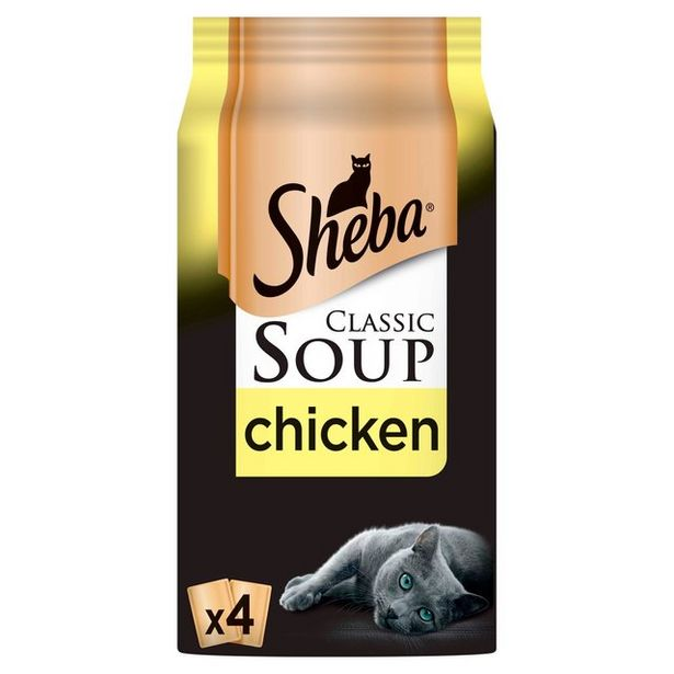 Sheba Soup With Chicken Fillets   offer at £1.75