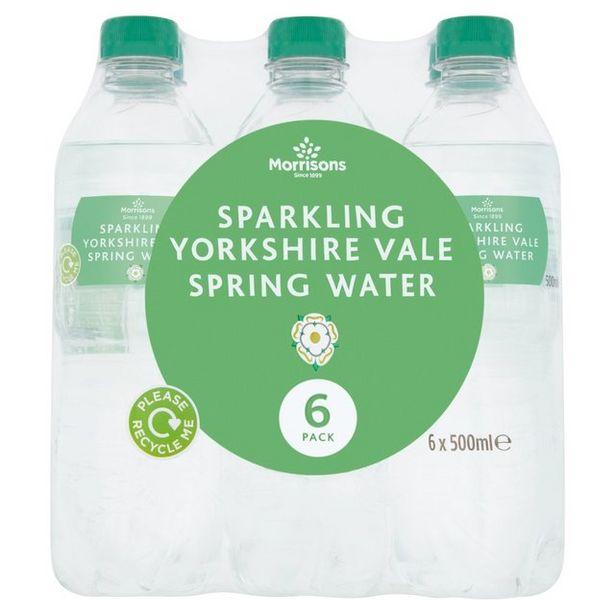 Morrisons Sparkling Spring Water offer at £0.95
