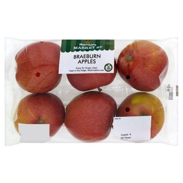 Morrisons Braeburn Apples offer at £1.19