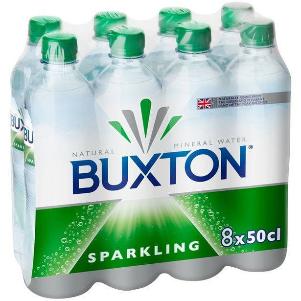 Buxton Sparkling Water  offer at £1.5