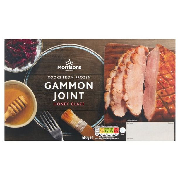 Morrisons Gammon With Honey Glaze offer at £3.5