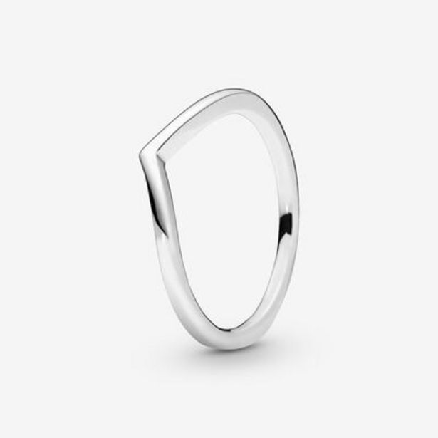 Polished Wishbone Ring offer at £30