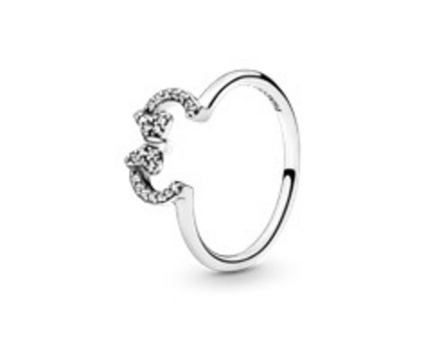 Disney Minnie Mouse Ears Silhouette Puzzle Ring offer at £55