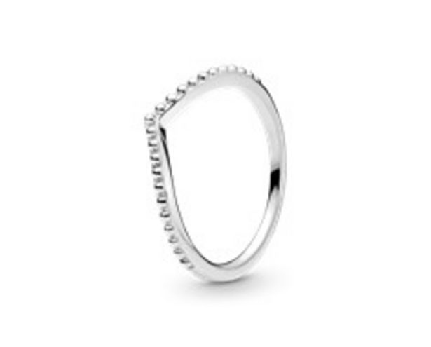 Beaded Wishbone Ring offer at £30