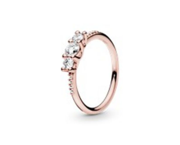 Clear Three-Stone Ring offer at £70