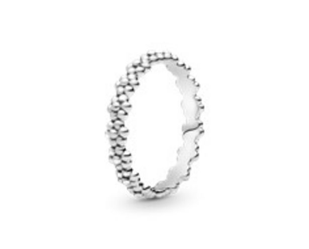 Classic Daisy Flower Band Ring offer at £35