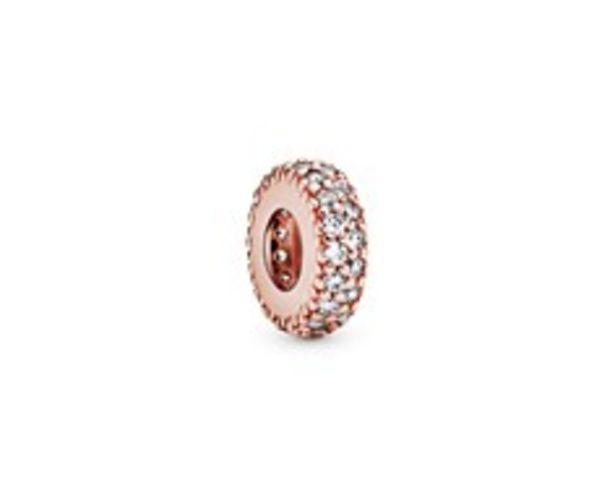 Clear Sparkle Spacer Charm offer at £40