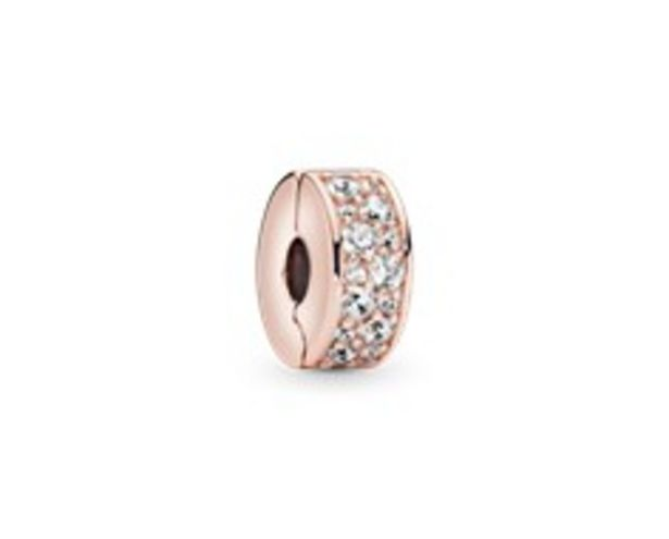 Clear Pavé Clip Charm offer at £45