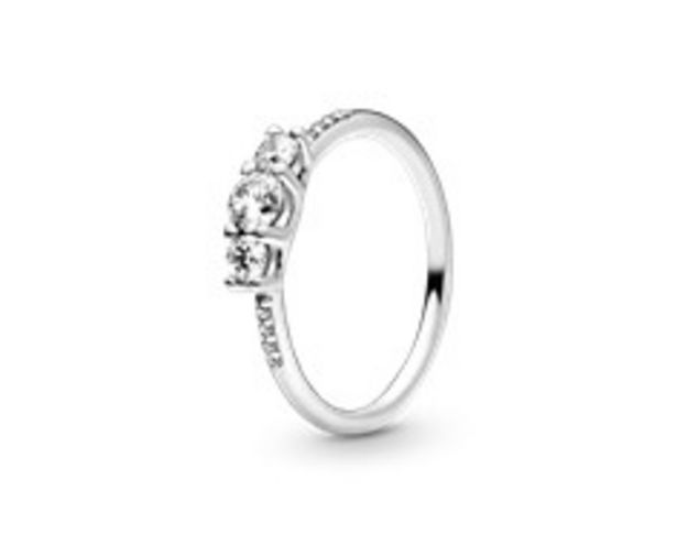 Clear Three-Stone Ring offer at £55