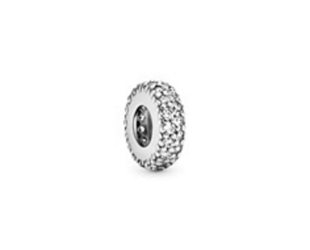 Clear Sparkle Spacer Charm offer at £30
